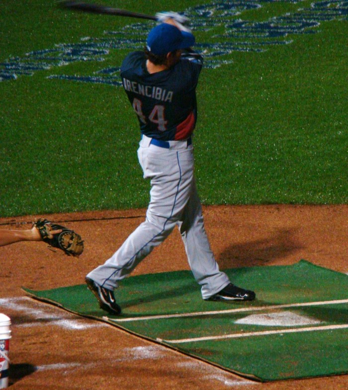 J.P. Arencibia, Home Run Derby at Coca Cola Park.  Photo: Decal