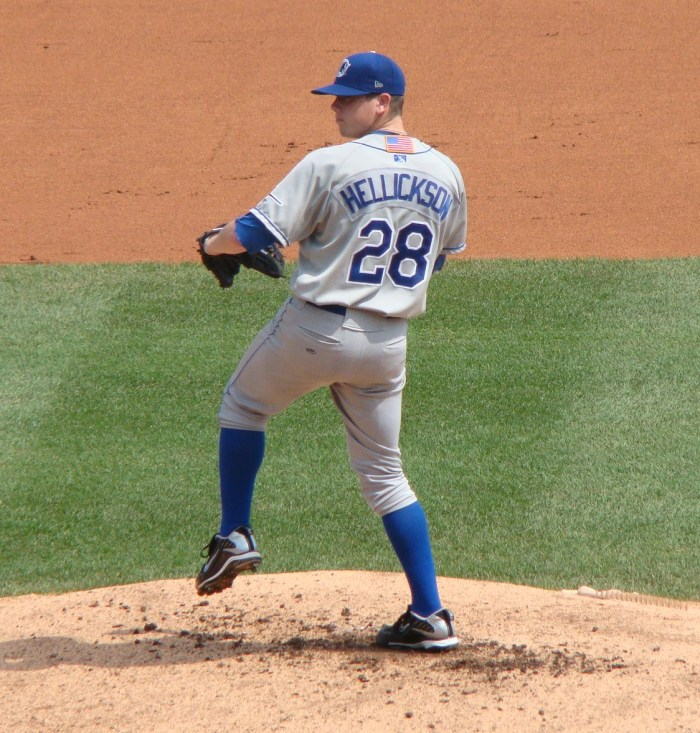 "Jeremy Hellickson with the Durham Bulls in 2011. Could he pitch the ""Futures Game"" on the Phillies' side? Photo: Decal"