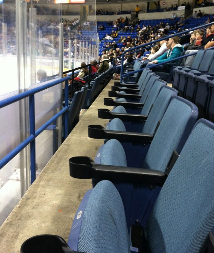 Wilkes Barre during the 2011-2012 season. Photo: Kram