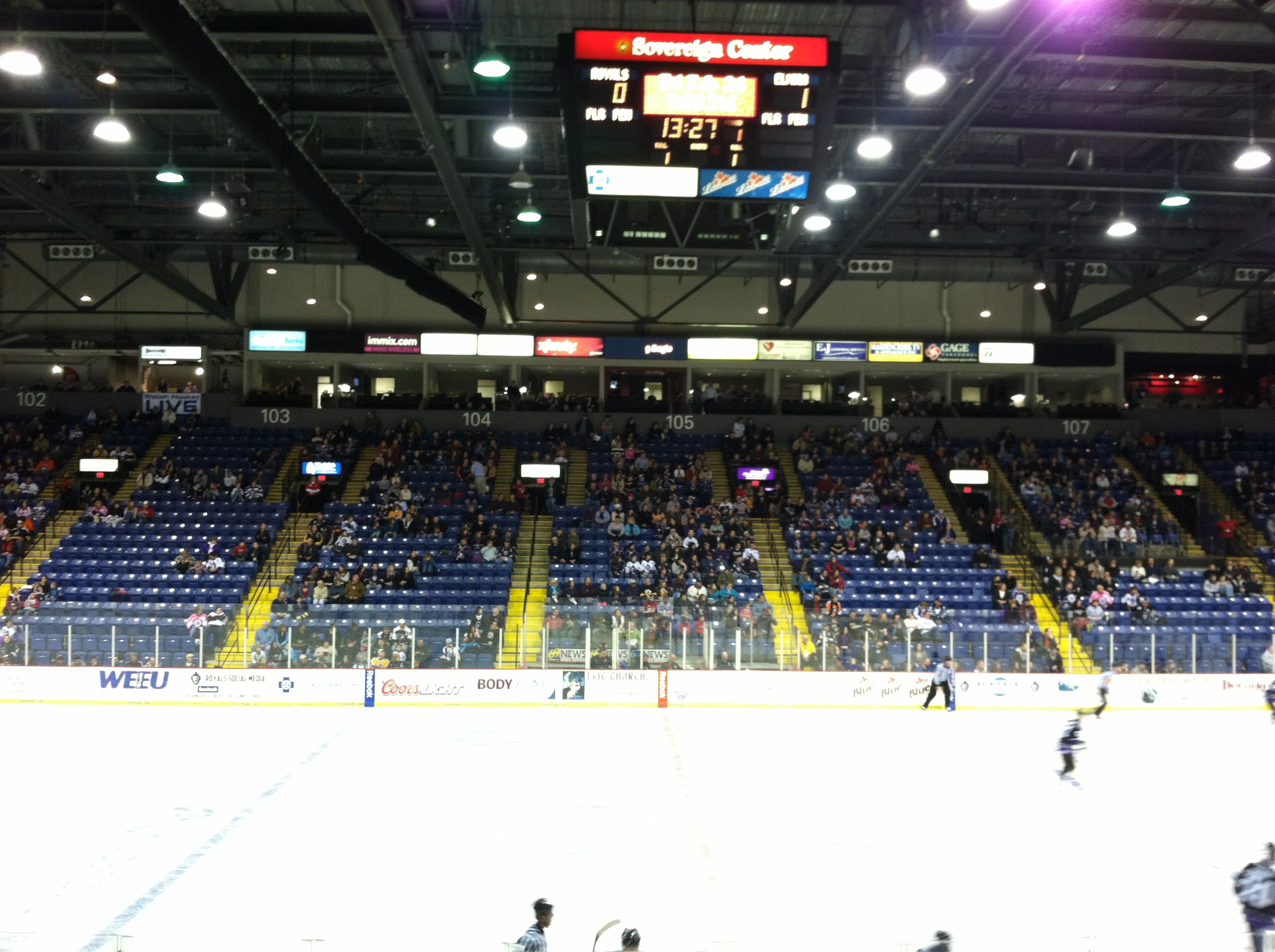 "hockey ""research,"" vol. ii: reading royals"