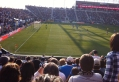 The view from Dan's seats during a Union game in 2012.  Photo: NoiseNation Dan