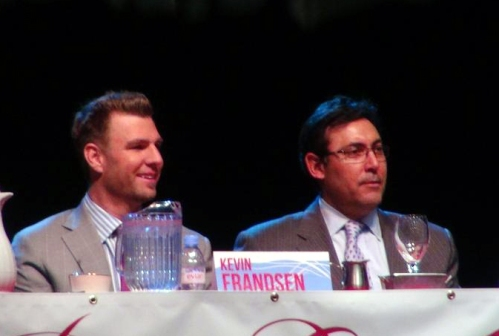 Frandsen with Amaro     Photo: @CherylPursell