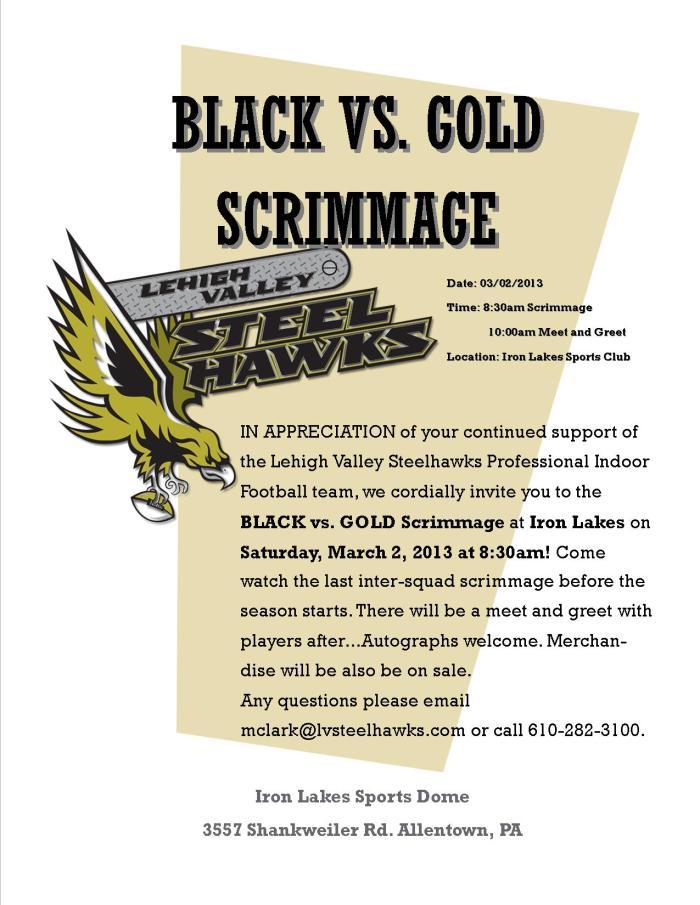 BLACK-GOLD SCRIMMAGE-2013