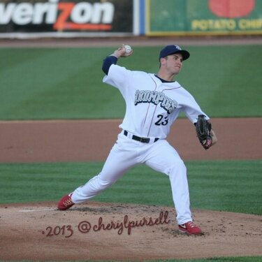 David Buchanan dealing.   Photo (c) Cheryl Pursell