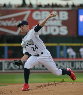 International League Pitcher of the Week:  Greg Smith! Photo: Cheryl Pursell
