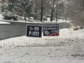 Signs Snow IronPigs