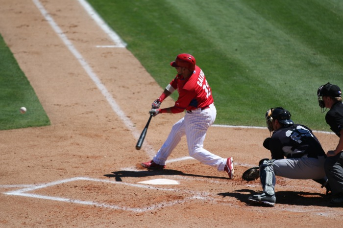 Freddy Galvis, from Spring Training.  Photo: Cheryl Pursell