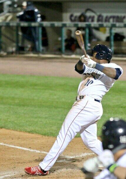 Maikel Franco First AAA Homer, photo 1 Cheryl Pursell