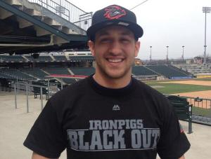Gary, sporting the new black out T-Shirt, and Friday Cap.  Image:  @Ironpigs Twitter Feed