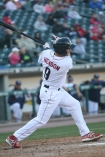 Henson with an RBI single  from April 9 - Cheryl Pursell