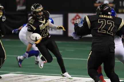 Dwayne Hollis - Photo from Lehigh Valley Steelhawks