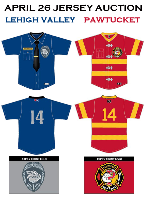 Full Jersey Artwork from the IronPigs for the 4/26/2014 game.