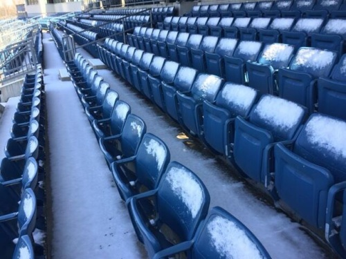 The Syracuse Seats.  Photo Courtesy Barry Enright Twitter: @BarryEnright45