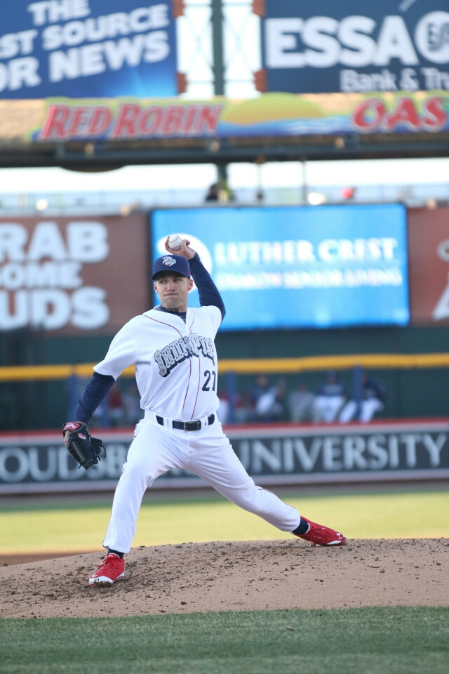 Greg Smith has anchored the rotation  (c) Cheryl Pursell