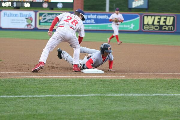 Mookie Betts.  All Kinds of Havoc.  Photo: Cheryl Pursell