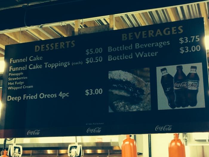 funnel menu
