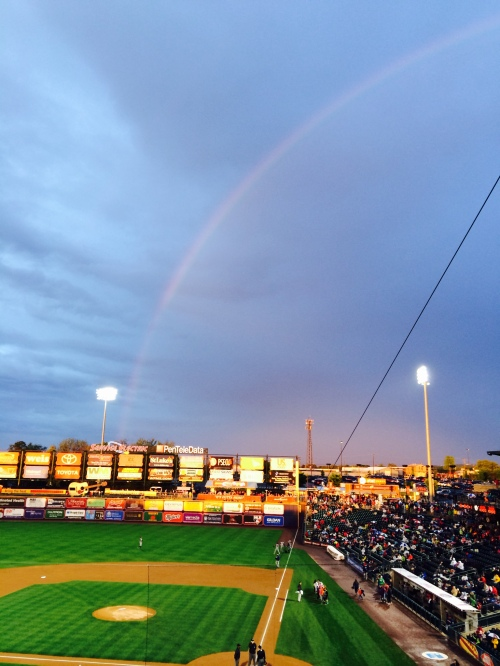 A Pot of Gold in Right Field?   Photo: Kram