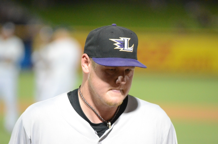 Latos Leaving; Not Happy (c) Jim Godown