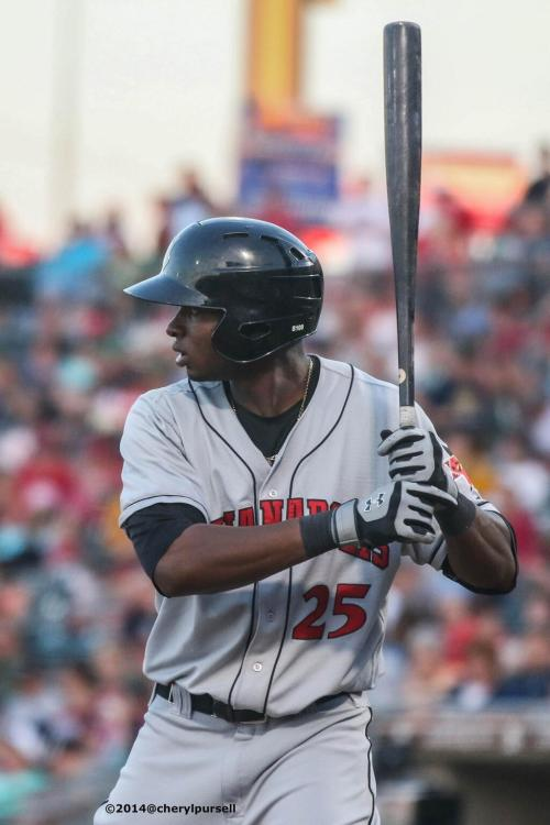 The Newest Pirate:  Gregory Polanco.   Photo: Cheryl Pursell