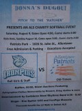 2014 ALS Charity Softball Event