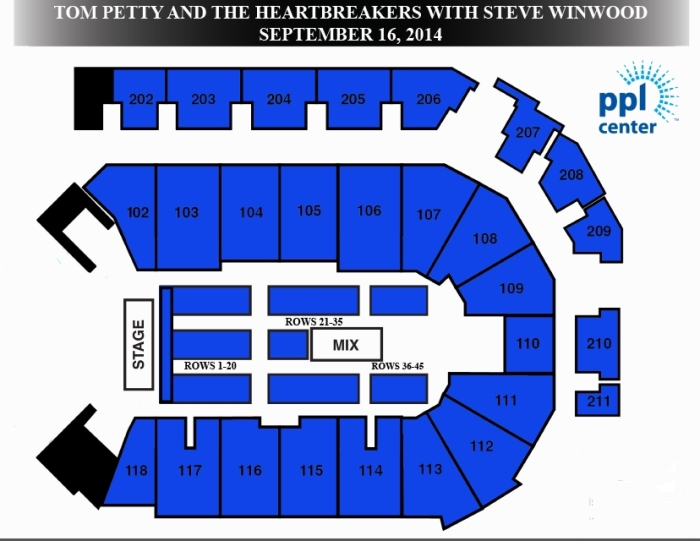 ppl concert seating