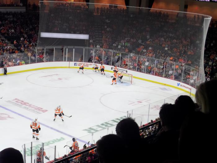 Game Play from section 205. Photo: @Kram209