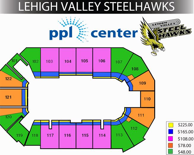 steelhawks seating prices