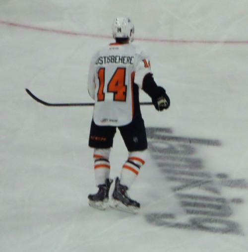 My guy Gostisbehere.  Gonna be a good one, I think.   Photo: @Kram209