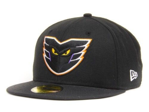 "This gorgeous New Era fitted Phantoms hat is no longer available.  You can always tell the old gear, because the trim (within the logo, in this case) is purple, instead of the new ""electric blue."""