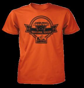 Inaugural Season T-Shirt.  Orange.