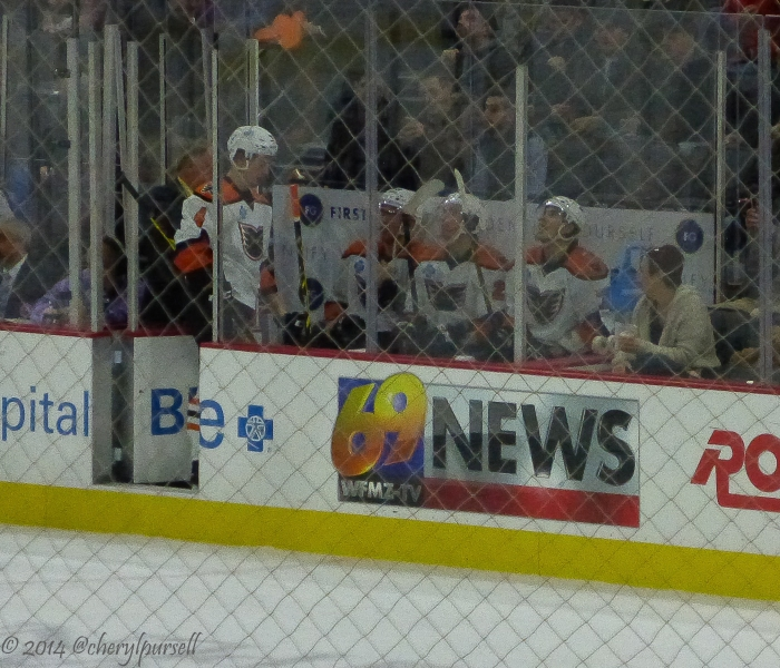 """Wait, we've only got three seats in this penalty box?!?"" Photo: Cheryl Pursell"