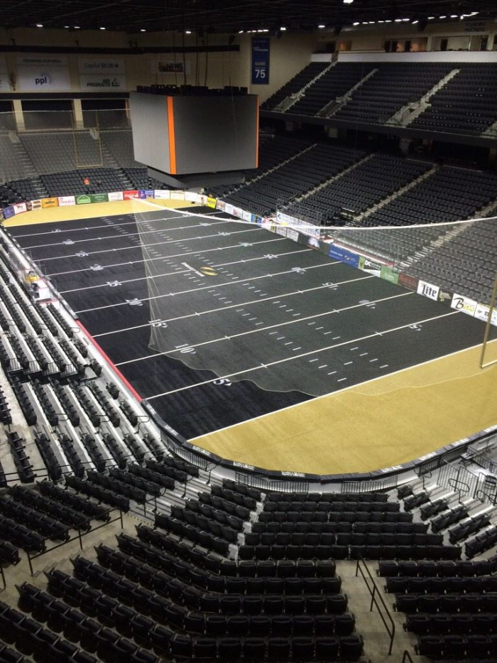 Completed Field View Courtesy SteelHawks and PPL Center
