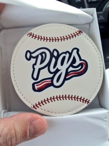 Coasters are part of the STH gift package this season