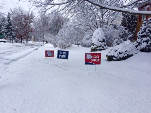 signs on yard