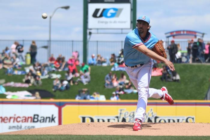 Phillippe Aumont leads the IronPigs, as they return home this weekend.  Photo: Cheryl Pursell