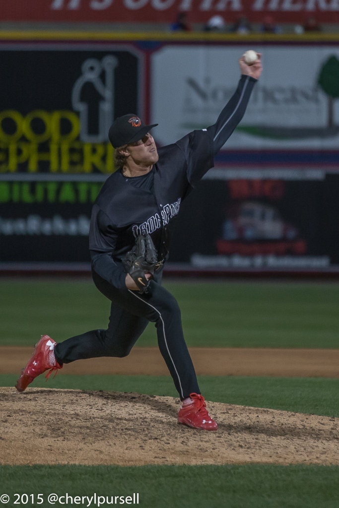 LHP Adam Loewen.  Photo: Cheryl Pursell