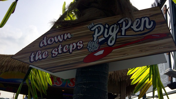 pig pen sign