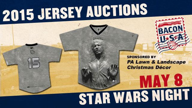 han solo star wars jersey auction