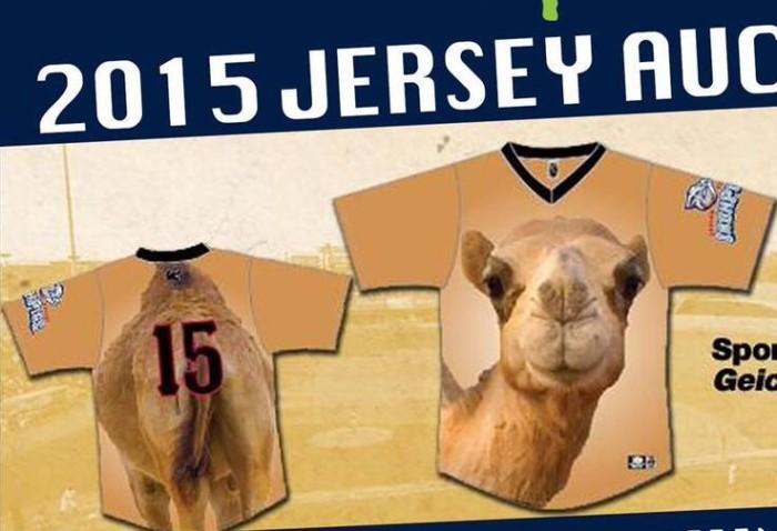 camel jersey