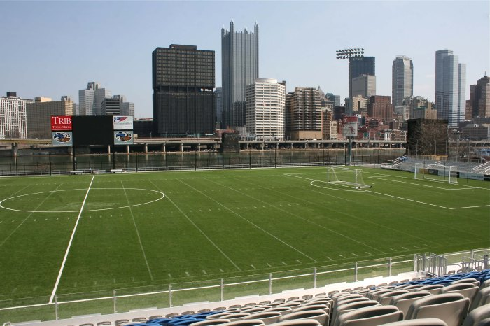 Highmark Stadium in Pittsburgh. Photo: The Soccer Observer