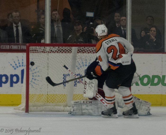 See if Straka can get a goal. He's had several versus Hershey. Photo: Cheryl Pursell