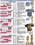 2016 Mini Pl Fightins Promotional Schedule