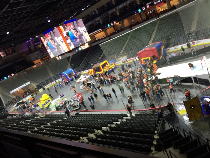 View of the floor at the 2015 carnival. Photo: Kram
