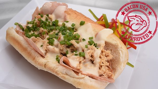 chicken cordon bleu cheesesteak