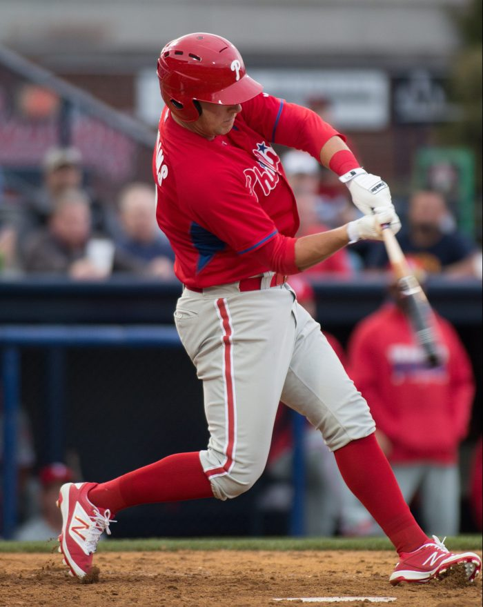 Rhys Hoskins. Photo: Cheryl Pursell
