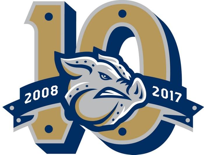 pigs 10-year logo