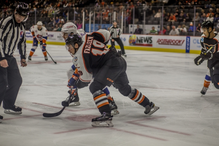 Fazleev has been a nice surprise, helping with the scoring attack on the fourth line. Photo: Cheryl Pursell